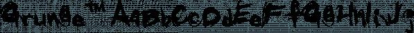 Grunge™ font family by MINDCANDY