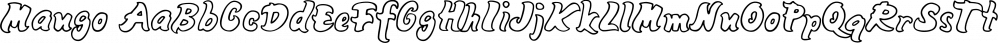 Mango font family by Typodermic Fonts Inc.
