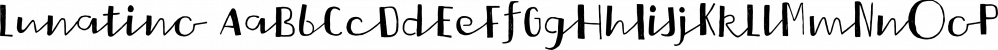 Lunatino font family by Tour de Force Font Foundry