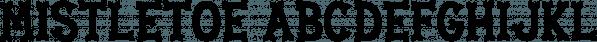 Mistletoe font family by Lauren Ashpole