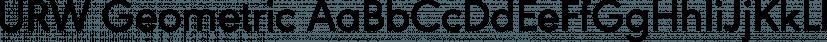 URW Geometric font family by URW Type Foundry