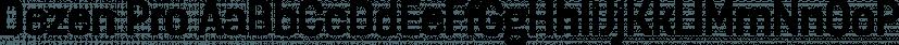 Dezen Pro font family by DizajnDesign