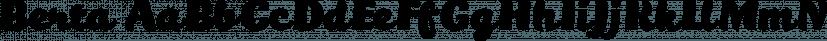 Berta font family by Eurotypo