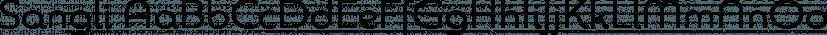 Sangli font family by Insigne Design