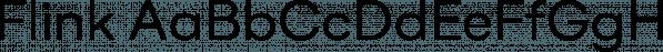 Flink font family by Moritz Kleinsorge