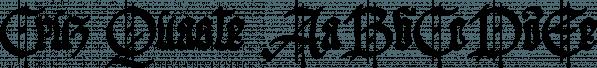 Cruz Quaste font family by Måns Grebäck