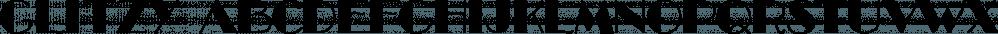 Glitzy font family by Ingrimayne Type