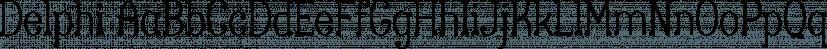 Delphi font family by Positype