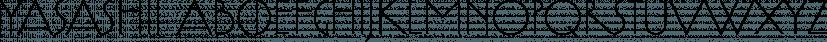Yasashii font family by Dharma Type
