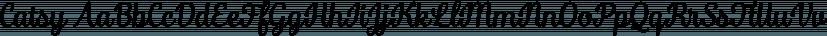 Catsy font family by Fenotype