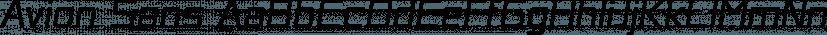Avion Sans font family by Sergej Lebedev