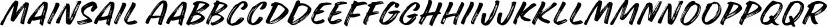 Mainsail font family by Mika Melvas