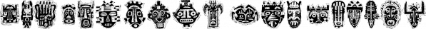 Tribal Masks™ font family by MINDCANDY