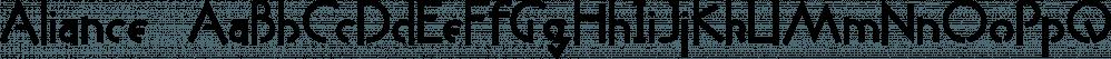 Aliance™ font family by MINDCANDY
