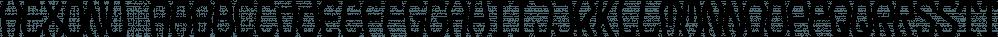 Hexonu font family by Ingrimayne Type