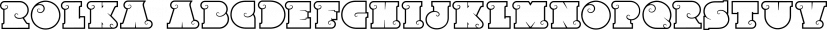 Rolka font family by Fontfabric