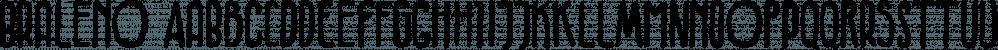 Braleno font family by Letterhend Studio