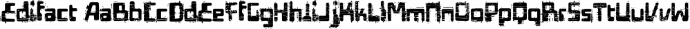 Edifact font family by Typodermic Fonts Inc.