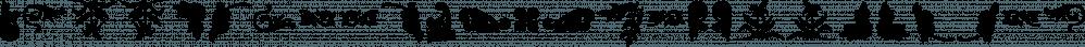 Ckornoments font family by Ingrimayne Type