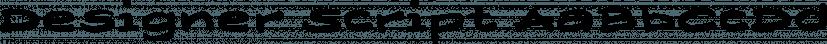 Designer Script font family by Wiescher-Design