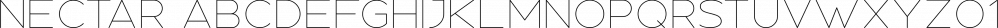 Nectar font family by Tugcu Design Co