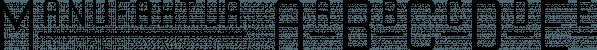 Manufaktur font family by Great Scott