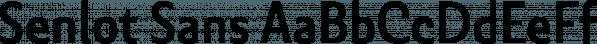 Senlot Sans font family by Insigne Design