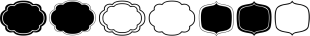 LUELLA font family mini