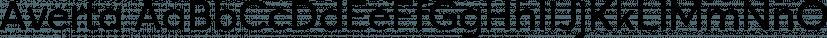 Averta font family by Kostas Bartsokas