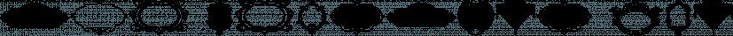 LHF Bergling Panels font family by Letterhead Fonts