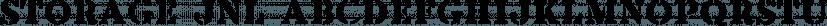Storage JNL font family by Jeff Levine Fonts