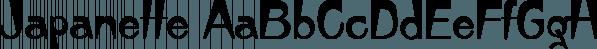 Japanette font family by SoftMaker