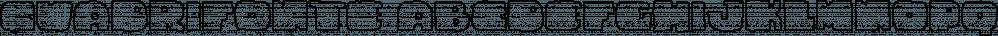 Cuadrifonte font family by PintassilgoPrints