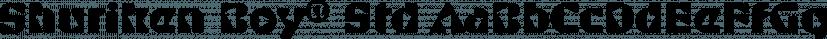 Shuriken Boy® Std font family by Adobe