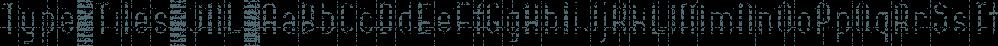 Type Tiles JNL font family by Jeff Levine Fonts