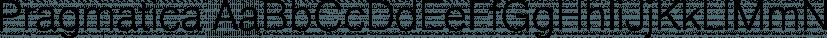 Pragmatica font family by ParaType