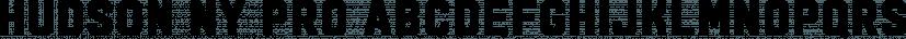 Hudson Ny Pro font family by Andrew Footit