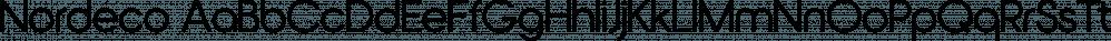 Nordeco font family by Leksen Design