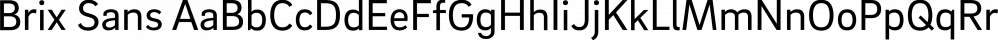 Brix Sans font family by HVD Fonts