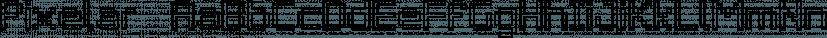 Pixelar  font family by Graviton