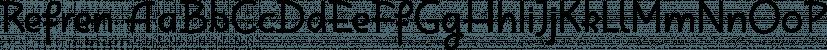 Refren font family by Tour de Force Font Foundry