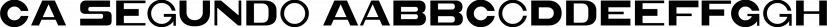 CA Segundo font family by Cape Arcona Type Foundry