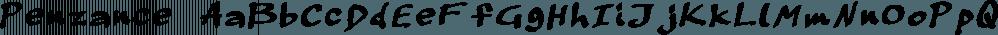 Penzance font family by TEKNIKE