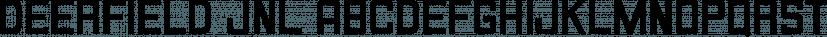 Deerfield JNL font family by Jeff Levine Fonts
