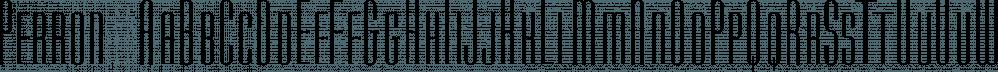 Perron font family by Fontforecast