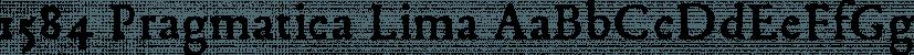 1584 Pragmatica Lima font family by GLC Foundry