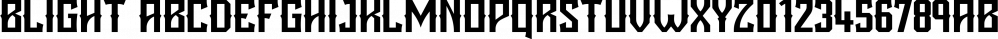 Blight font family by Tugcu Design Co