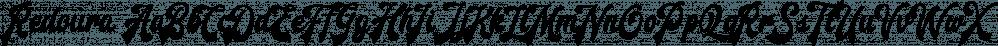 Redoura font family by Letterhend Studio