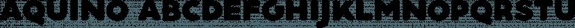 Aquino font family by phitradesign fonts