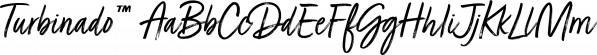 Turbinado™ font family by Aerotype